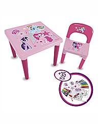 My Little Pony My 1st Activity Desk Set