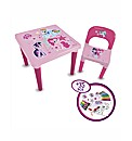 My Little Pony My 1st Activity Desk Set