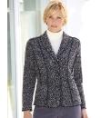 Lightweight Wool Mix Boucle Jacket