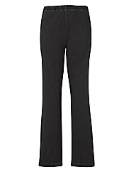 Pull On Bootcut Jeggings Length 34in