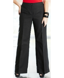 Wide Leg Linen Trouser Length 30in