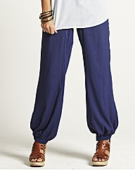 Harem Pants with Drawstring Waist