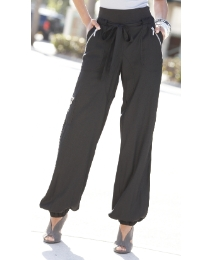 Zipped Hareem Trouser-Length 29in