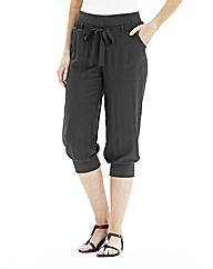 Cropped Harem Pants
