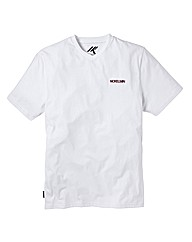 Nickelson White V-Neck T-Shirt