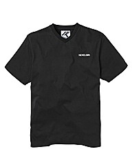Nickelson Black V-Neck T-Shirt