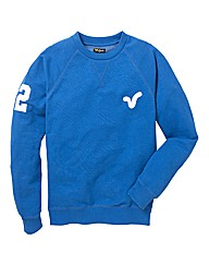 Voi Cobalt Rigger Crew Neck Sweat