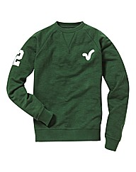 Voi Green Rigger Crew Neck Sweat