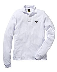 Voi White Long Sleeve Polo Shirt Regular