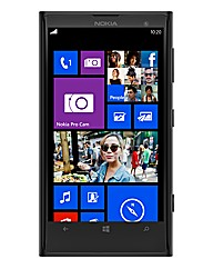 Nokia Lumia 1020 Black Mobile