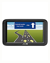MIO 4.3in Sat Nav and Case