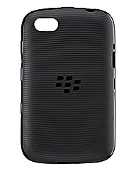 BlackBerry 9720 Soft Shell Case - Black
