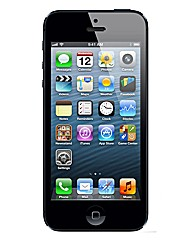 iPhone 5S with Charger - Black/Grey 16GB