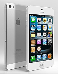 iPhone 5S with Charger - White/Silv 16GB