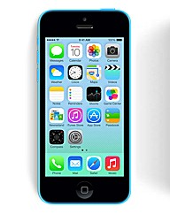 iPhone 5C with Charger - Blue 16GB