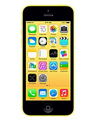iPhone 5C with Charger - Yellow 16GB