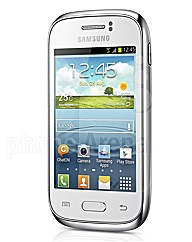Samsung Galaxy Fame white mobile