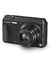 Panasonic DMC-TZ55EB Camera - Black