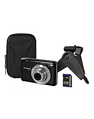 Polaroid 16mp Camera + Kit Black