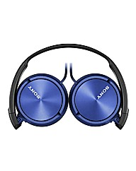 Sony ZX310 Headphones Blue
