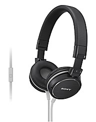 Sony ZX600 Headphones - Black
