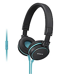 Sony ZX600 Headphones - Blue