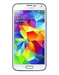Samsung Galaxy S5 White Mobile