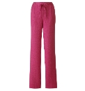 Petite Linen-Look Trousers Length 25in