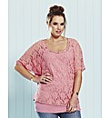 And Abigail 2 Piece Lace Top & Vest