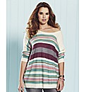 And Abigail Striped Jumper
