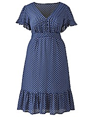 Jeffrey & Paula Spot Tea Dress
