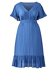 Jeffrey & Paula Plain Tea Dress