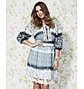 Frock and Frill Print Dress