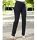 Changes Boutique Bead Trim Slim Jeans