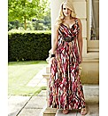 Changes Boutique Print Maxi Dress