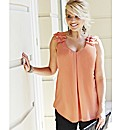 Changes Boutique Ruffle Top