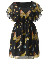 AX Paris Butterfly Print Dress
