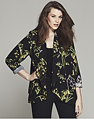 Bespoke Brooke Floral Belted Soft Jacket