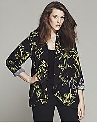Bespoke Brooke Floral Belted Soft Jacket