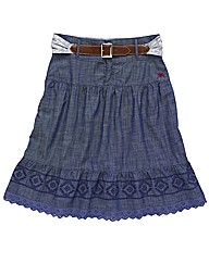 Spirit and Sands Chambray Skirt