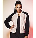 Grazia PU Bomber Jacket