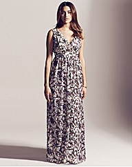 Project D Lincoln Print Maxi Dress 58in