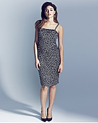 Project D Plaza Ruffle Spot Dress