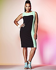 Grazia Colour Block Dress