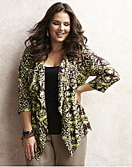 Jeffrey & Paula Print Soft Jacket