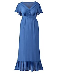 Jeffrey & Paula Plain Maxi Tea Dress