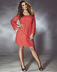 Rise Tilly Beaded Tunic Dress