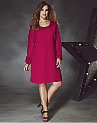 Rise Selena Ruffle Trim Tunic Dress