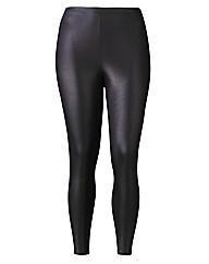 Grazia Matt Wet Look Leggings