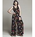 Bespoke Jane Floral Print Jumpsuit
